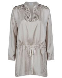 Day Birger et Mikkelsen - Metallic Scent Beaded Tunic - Lyst