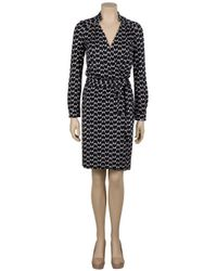 Diane von Furstenberg | Black 'arabella' Dress | Lyst