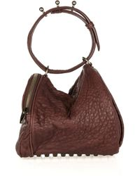 Alexander Wang | Angela Textured-leather Bag | Lyst