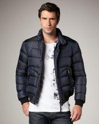 Burberry Brit Blue Puffer Jacket, Navy for men