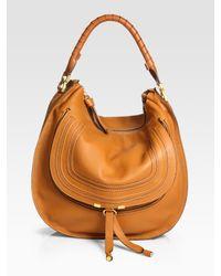 Chloé | Brown Large Marcie Hobo Bag | Lyst