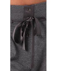 Dolan - Gray Slouch Pocket Pants - Lyst