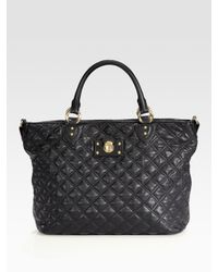 Marc Jacobs | Black Harrison New Quilted Tote Bag | Lyst