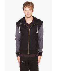 Shades of Grey by Micah Cohen | Black Zip Up Hoodie for Men | Lyst