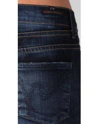 Citizens of Humanity - Blue Hutton Wide Leg Jeans - Lyst