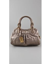 Marc By Marc Jacobs | Classic Q Metallic Baby Groovee Satchel | Lyst