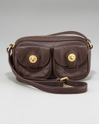Marc Jacobs | Brown Totally Turnlock Ava Crossbody Bag | Lyst