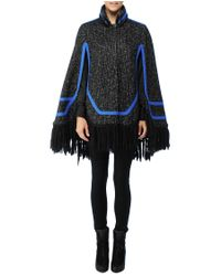 Rag & Bone | Black Leighton Cape | Lyst