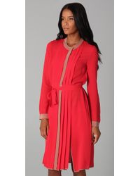 BCBGMAXAZRIA | Red Cambria Shirt Dress | Lyst