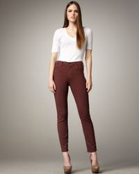 Citizens of Humanity | Purple Rocket Claret High-rise Skinny Jeans | Lyst
