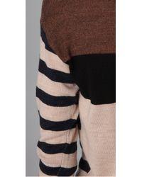 Marc By Marc Jacobs | Black Jasmine Striped Sweater | Lyst