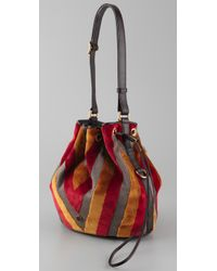 Marc By Marc Jacobs | Yellow Regine Velvet Bag | Lyst