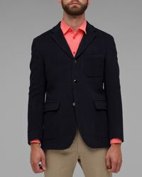 Our Legacy | Blue Melton Wool Blazer for Men | Lyst