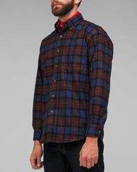 Pendleton | Blue Fireside Button Down Shirt for Men | Lyst
