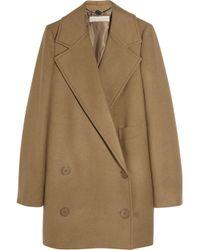Stella McCartney | Natural Edith Camel Wool Coat | Lyst