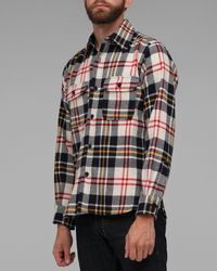 Woolrich | Green Classic Plaid Shirt for Men | Lyst