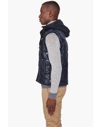 G-Star RAW - Blue Belton Hooded Vest for Men - Lyst