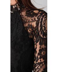 Lover | Black Mademoiselle Mini Dress | Lyst