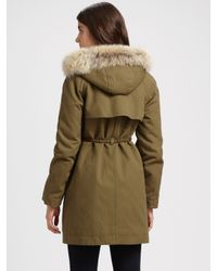 Marc By Marc Jacobs - Green Delancey Parka - Lyst