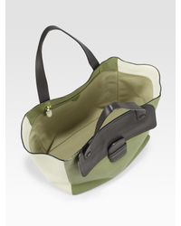 Marc Jacobs | Green Colorblock Tote Bag | Lyst