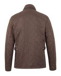 Barbour - Brown Chelsea Sportsquilt Jacket for Men - Lyst