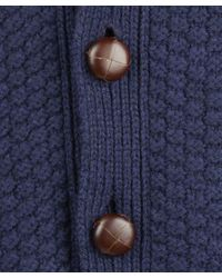 Barbour - Blue Navy Moss Shawl Collar Cardigan for Men - Lyst