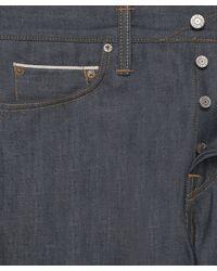 Edwin - Gray Ed-67 Grey Selvedge Jeans 32l for Men - Lyst
