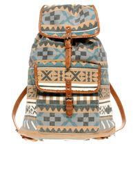 River Island | Multicolor Tribal Backpack for Men | Lyst