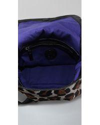 Tory Burch - Gray City Haircalf Mini Bag - Lyst