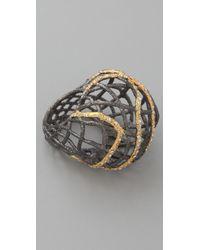 Alexis Bittar - Metallic Woven Dome Ring - Lyst