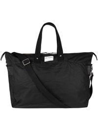 Ally Capellino Black Freddie Wax Weekend Bag for men