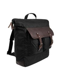 Ally Capellino | Black Igor Wax Backpack for Men | Lyst
