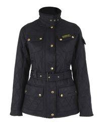 Barbour | Black International Polar Quilt Jacket | Lyst