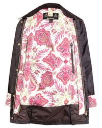Barbour - Brown Lord Paisley Liberty Print Beadnell Jacket - Lyst