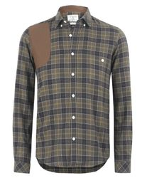 Barbour | Natural Khaki Check Hexham Shirt for Men | Lyst