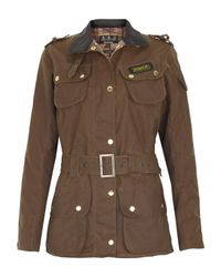 Barbour | Brown Sandstone International Waxed Jacket | Lyst