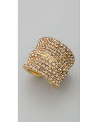 DANNIJO | Metallic Coco Ring | Lyst