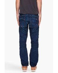 DIESEL - Blue Braddom Jeans for Men - Lyst