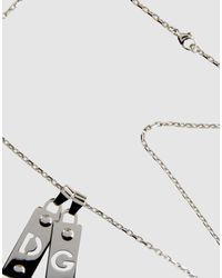 Dolce & Gabbana - Metallic Necklaces - Lyst