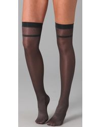 Falke - Brown Smart Network Knee High Socks - Lyst