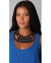 Fiona Paxton - Gray Breeze Collar Necklace - Lyst