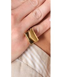 Gemma Redux | Metallic Envelopment Ring | Lyst