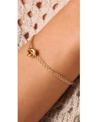 Gorjana   Metallic Infinity Ring Bracelet   Lyst