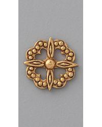 Gorjana - Metallic Jade Stud Earrings - Lyst