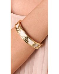 House of Harlow 1960 - Metallic Aztec Bangle - Lyst