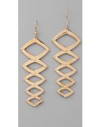 House of Harlow 1960 | Metallic Geometric Dangle Earrings | Lyst