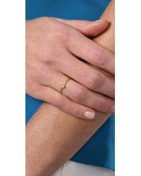 Jacquie Aiche - Metallic Waif Small Bezel Ring - Lyst