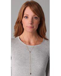 Jennifer Zeuner   Yellow Mini Eye & Hamsa Necklace   Lyst
