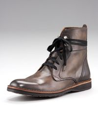 John Varvatos - Gray Winter Convertible Hipster Boot for Men - Lyst