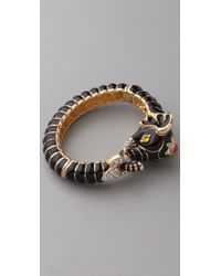 Kenneth Jay Lane | Black Elephant Bracelet | Lyst